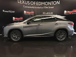 lexus rx edmonton pre owned 2017 lexus rx 350 tour of alberta 4 door sport utility