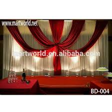 2017 new design customized wedding stage backdrop for wedding