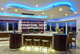 Contemporary Kitchen Decorating Ideas by Modern Kitchen Ceiling Designs Ideas Tiles Lights Pop Design For