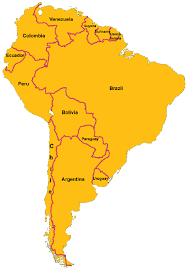 map of america with country names live south american radio radio from south america