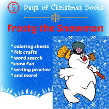 5 days of christmas books frosty the snowman startsateight