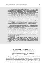 2 technical and operational considerations in cyberattack and
