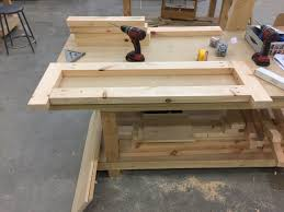 adventures in woodworking coffee table hard hat hunter