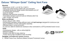 bathroom ventilation low cost ceiling exhaust fans