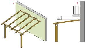 montaggio tettoia in legno pronto portico sistema per strutture addossate bricoportale