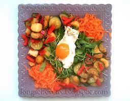 recette cuisine saine recette de cuisine naturelle et saine salade composée vitaminée