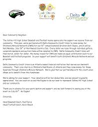 Sample Of Fundraising Letter by Amazing Event Sponsorship Letter Example Gallery Best Resume