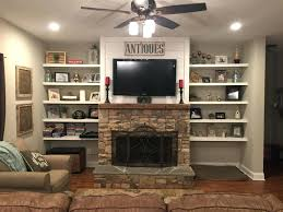 floating fireplace mantel shelves ideas suzannawinter com