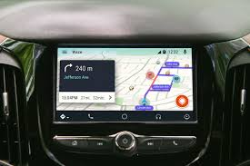waze android waze arrives on android auto the verge