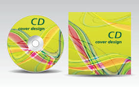 cd cover presentation vector template material 15 vector cover