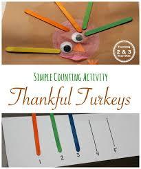 easy thankful turkey craft for preschoolers