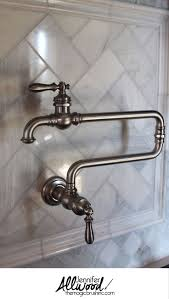 Kohler Brass Kitchen Faucets by Best 25 Wall Faucet Ideas On Pinterest Wall Mounted Bathroom