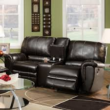 casual rocking reclining loveseat with console 463 by franklin