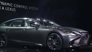 lexus ls website lexus ls 500 naias reveal video u201cforged from passion u201d youtube
