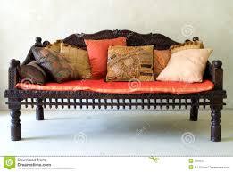Wooden Sofa Wooden Sofa Stock Photo Image 3328530