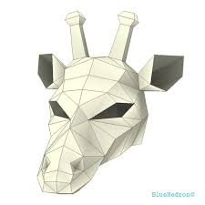Halloween Paper Crafts by Giraffe Mask Fancy Dress Festival Papercraft Diy Awesome Paper