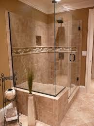 Tiled Bathroom Showers Tiled Bathroom Shower Traditional Bathroom Louisville By