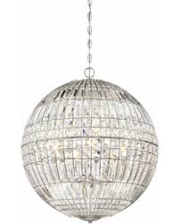 Sphere Chandelier With Crystals Appealing Sphere Chandelier In Spectacular Deal On Minka