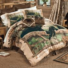 Rustic Bedding Sets Clearance Black Bear Cubs Crepe Duvet Cover Queen Clearance Decor