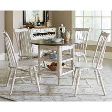 Oak Table With Windsor Back Chairs Liberty Furniture Oak Hill Windsor Dining Chair Hayneedle