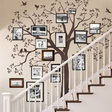 staircase family tree wall decal tree wall decal organic giant staircase family tree wall decal