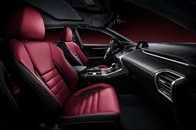 lexus rx red interior lexus nx first pictures and details lexus