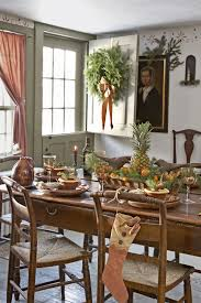 Primitive Dining Room Tables 45 Best Christmas Table Settings Decorations And Centerpiece