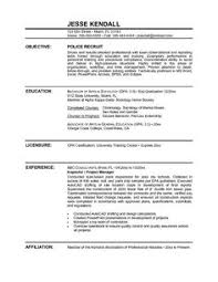 Resume Examples For Military To Civilian by Pretentious Idea Police Resume Examples 13 Military To Civilian
