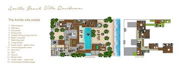 Harrods Floor Plan The Amilla Villa Estate Amilla Beach Villa Residences U2013 Maldives