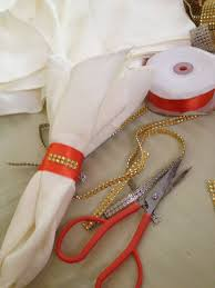 diy napkin rings for your wedding reception tables jamaica