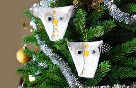 Owl Decorations For Christmas Tree by 10 Homemade Christmas Ornaments That Kids Can Make Parentmap