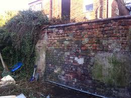rendering a garden wall urmstonhandyman 0161 746 8168 lee harrison