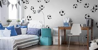 papiers peints chambre papiers peints chambre de garçon mur aux dimensions myloview fr