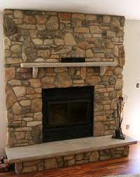 stone veneer fireplaces