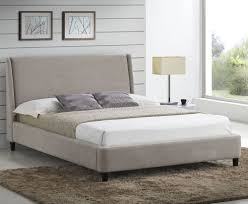 addison small double 4ft sand upholstered bed