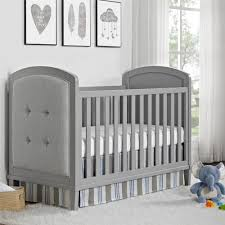 Discount Convertible Cribs by Nursery Decors U0026 Furnitures Colette Tufted Headboard Restoration