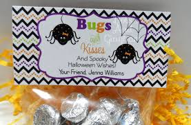 halloween treat bag topper printable treat bag tpper bugs u0026