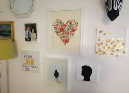 fancy wall decor idea with grand easy diy art design of family