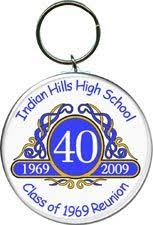 high school reunion favors class reunion favors key chains featuring a picture of your