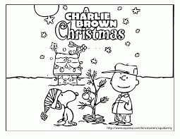 charlie brown snoopy christmas coloring pages coloring