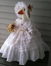 Shabby Garden Decor Goose Clothes Shabby Chic Outfit By Linda Shabby