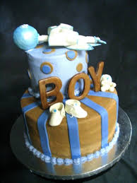boy baby shower cake by a7florio on cakecentral com baby shower