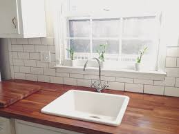 how to protect a butcher block countertop my yankee roots the other great benefit to using oil rather than a permanent finish if you accidently stain an area you can quickly sand buff it out and re apply oil to