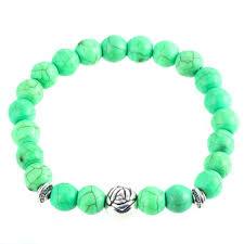 lucky beads bracelet images Lucky stone beads green marble natural lava stone gem bracelets jpg