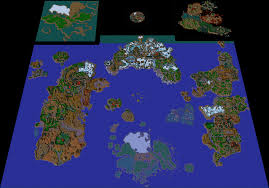 World Of Warcraft Map Warcraft Iii Azeroth 2 0 Map Screenshot By Ody Chan On Deviantart
