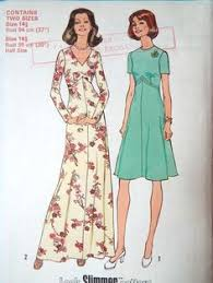 v shaped dress pattern vintage 1960s british style sewing pattern a chic cape with is a