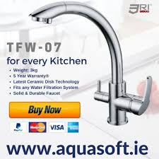 kitchen tap faucet tri flow taps ireland model tfw 07 3 way kitchen taps ireland