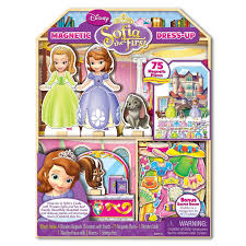 amazon com sofia the first magnetic dress up and playhouse castle