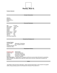 The 25 Best Chronological Resume by 100 Fill In Resume Templates Blank Resume Templates Resume
