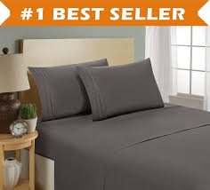 buy grey bed sheet sets online from amazon u2013 ease bedding with style
